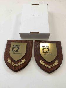 award met lasergravure