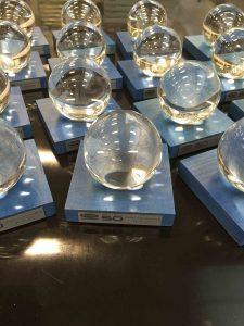 award glazen bol
