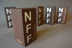 mooie houten award