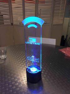 award met led verlichting