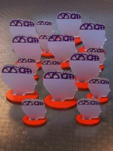 award mat glas